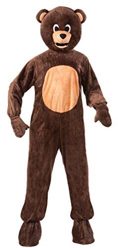 Forum Novelties Bear Mascot Teen Costume, Brown
