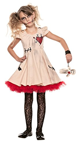 Big Girls' Voodoo Doll Costume X-Large (14)