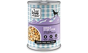 I and love and you Naked Essentials Wet Dog Food - Grain Free and Canned, Turkey, 13-Ounce, Pack of 12 Cans