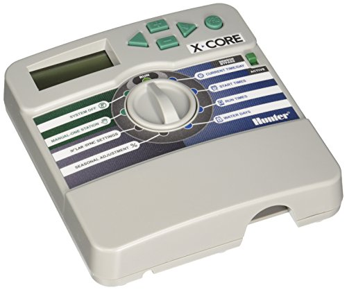 Hunter Sprinkler XC400I X-Core 4-Station Indoor XC-400i Sprinkler Timer