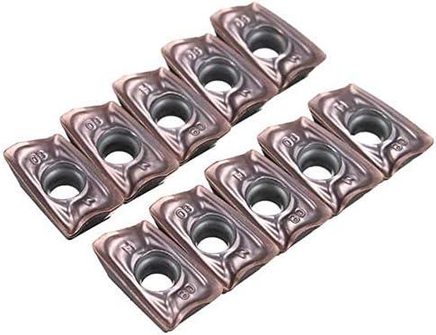 XY-YZGF 10Pcs CNC Klinge Schneidplatten-Fräser A0MT123608PEER-M VP15TF Einsätze Boring