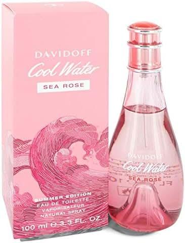 Çool Wâter Sea Rosé Pérfume by Dävïdöff For Women 3.3 oz Eau De Toilette Spray (2019 Summer Edition)