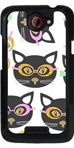 Funda para HTC one x - Gatos Inconformista by Luizavictorya72