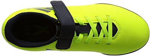 adidas Jungen X 17.4 TF J H&l Fußballschuhe Mehrfarbig (Solar Yellow/legend Ink F17/legend Ink F17)