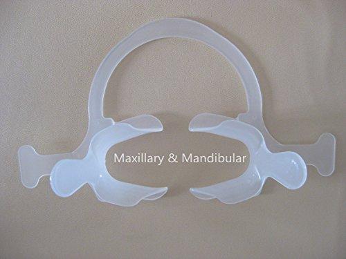 Retractors Self Retaining (Dental Cheek/Lip Retractors with bar, Milk Clear,universal size ---5pieces)