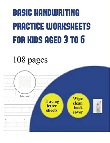 Basic Handwriting Practice Worksheets For Kids Aged 4 To 6 Letter