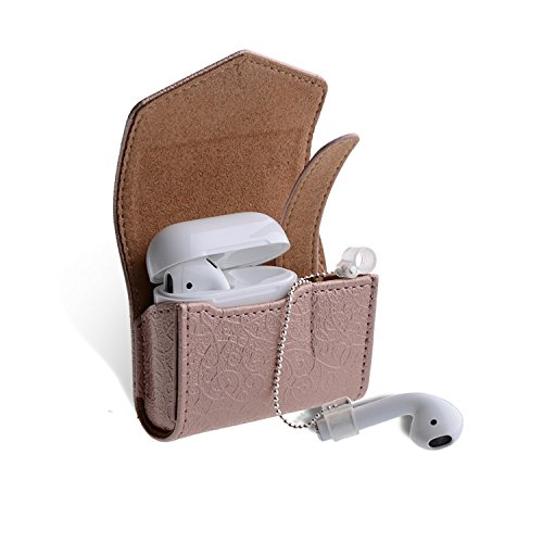 Airpods Thanksacase Embossed Pattern Leather