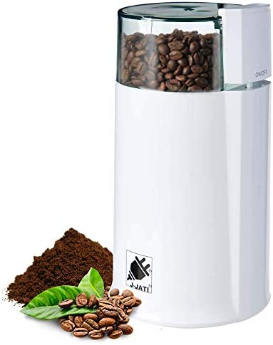J-Jati Electric Coffee Grinder Mill with Large Grinding Capacity and HD Motor Spices, Hyper-grind Herbs, Nuts, Grains, Grinder, electric coffee grinder