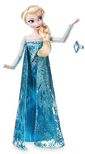 Boneca Clássica Elsa com Anel - Princesas Disney - Frozen