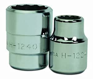 Williams H-1276 2-3/8-Inch Shallow 12 Point Socket