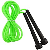 Boxing Jumping Skipping Rope Speed Fitness/Excercise/Work Out/Plastic/Nylon Rope Green