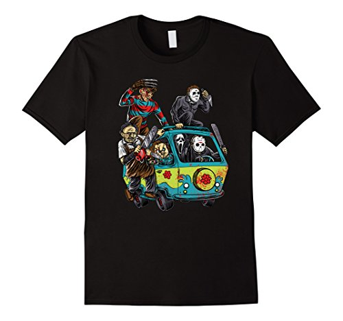 Men's The Massacre Machine Horror Shirt Large Black (Horror Tshirts)