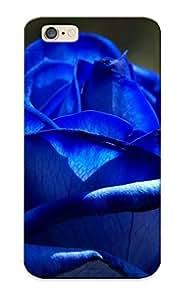Premium Tpu Blue Rose Cover Skin Series For Iphone 6 wangjiang maoyi