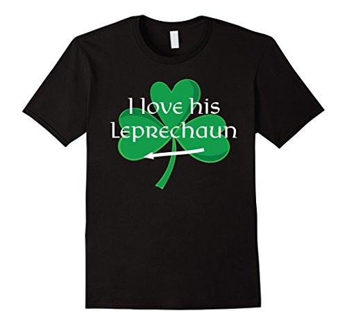 Funny Couples St. Pattys Day T-Shirt I Love His Leprechaun