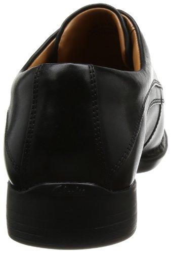 Clarks Francis Air Black Leather, Black, Einheitsgröße