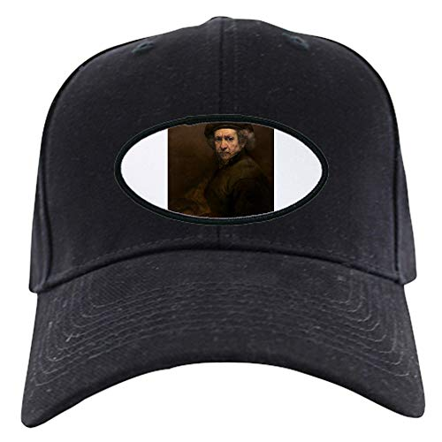 CafePress Rembrandt Van Rijn Self Portrait Baseball Hat Baseball Hat, Novelty Black Cap