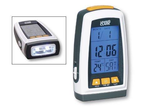 Lewis N Clark 2064 Digital Flashlight Clock -