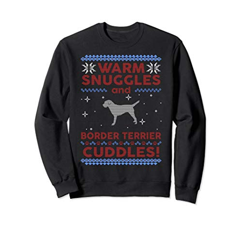 Border Terrier Ugly Christmas Sweater Pullover Jumper -