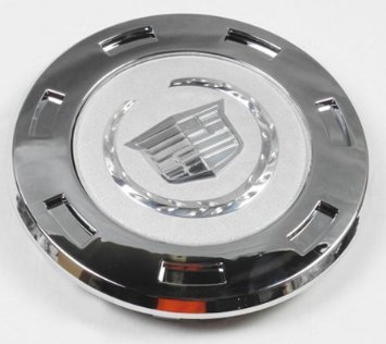 Replacement D098 9596649 07-12 Cadillac Escalade Chrome Crest 22 Wheels Center Hub Cap 07 08 09 2010 2011 2012 by -