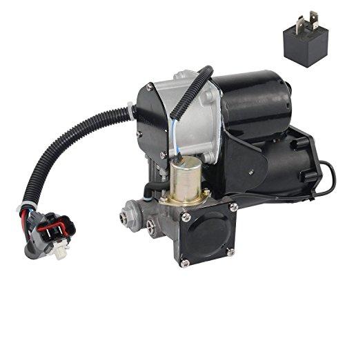 Air Suspension Compressor Pump Fit For Land Rover Range Rover 2006-2012 LR3 2005-2009 LR023964 LR015303 HITACHI style (6 pins connector) Not AMK version