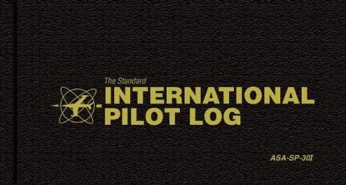 - The Standard International Pilot Master Log: ASA-SP-6I