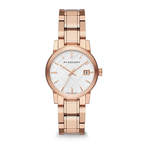 Burberry-Womens-BU9104-Heritage-Rose-Gold-Plated-Stainless-Steel-Watch