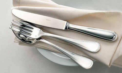 Carving Fork Perles - S/Steel