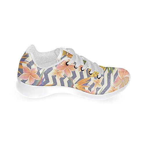 Jogging Sports Pineapple Comfort Stripes InterestPrint Sneaker Womens Athletic Easy Running Lightweight Walking Shoes Go z5fUqw