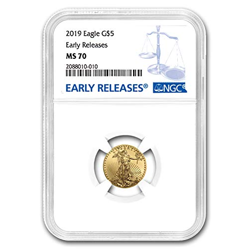 (2019 1/10 oz Gold American Eagle MS-70 NGC (Early Releases) Gold MS-70 NGC )