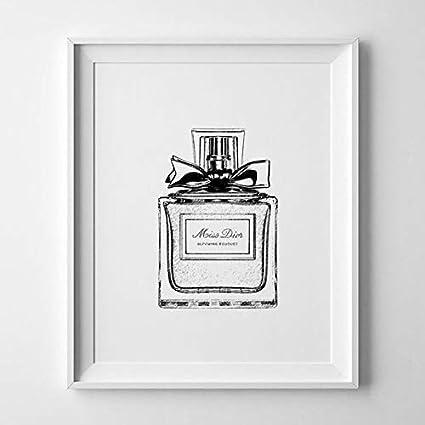 258437a9d562 Magictrees   Bumblebees Christian Dior Perfume Bottle Print