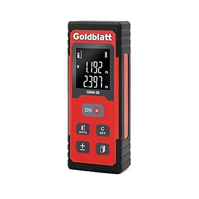 Goldbaltt 100Ft Laser Distance Measure Digital Tape Measurement