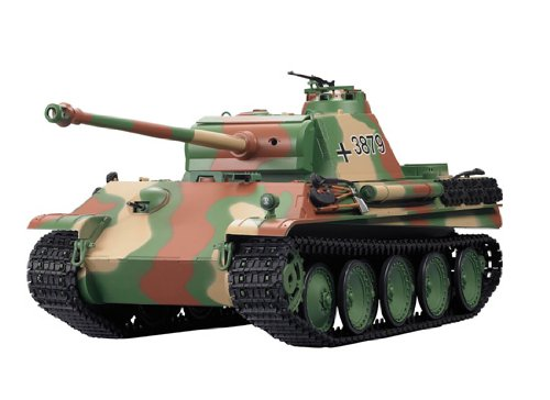 1/16 German Panther Type G Airsoft RC Battle Tank w/ Sound & Smoking ()