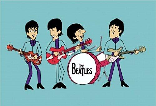 England UK United Kingdom Britain British The Beatles Fridge Refrigerator Magnets (1 Piece, Beatles-A6) (United Kingdom Magnet compare prices)
