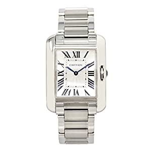 Cartier Tank Anglaise quartz mens Watch W5310044 (Certified Pre-owned)