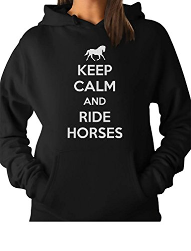 TeeStars Horses Horse Riding Hoodie product image