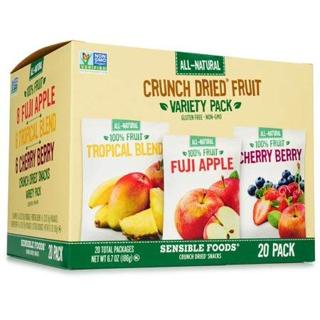 Sensible Foods Crunch Dried Fruit, 20 Count (6 Boxes) by Sensible (Image #3)