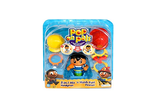 Pop On Pals Fireman and Handyman [Toy]
