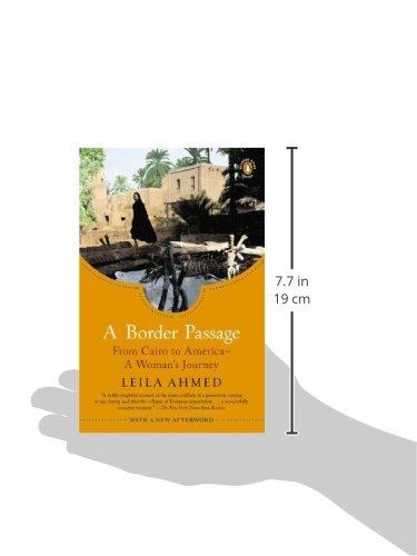 leila ahmed a border passage pdf