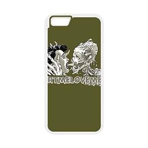 iPhone 6 Plus 5.5 Inch Cell Phone Case White EATMELOVEME Klcas