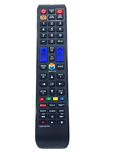 VINABTY Aa59-00784c Aa5900784c New Replaced Remote Fit for Samsung Un32f5500 Un32f5500af Un32f5500afxza Un32f6300 Un32f6300af Un32f6300afxza Un40f5500 Un40f5500af AA59-00784A AA59-0784B BN59-01043A