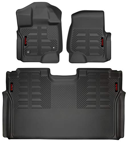 Gator 79611 Black Front and 2nd Seat Floor Liners Fits for sale  Delivered anywhere in Canada