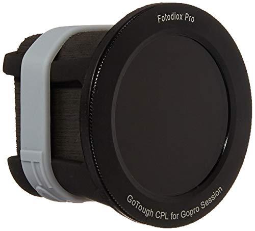 Fotodiox GoTough Silicone Mount Circular Polarizer (CPL) Filter GoPro Hero & HERO5 Session Camera - - Black - GT-H5S-CPL