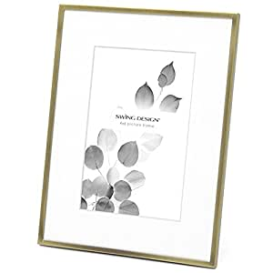 Swing Design Essex Picture Frame, 4 by 6-Inch, French Gold