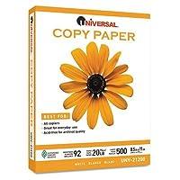 Papel de copia multiusos universal a granel de 500 hojas de 21200 (blanco)