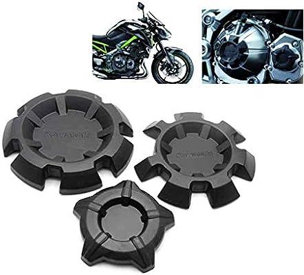 Negro XX ecommerce Motocicleta Protector de la cubierta del estator del deslizador del bastidor del protector del motor para 2017 2018 K-a-w-a-s-a-k-i Z900