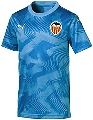 Puma Camiseta 3º EQUIPACION JR Valencia CF Talla 116: Amazon.es ...