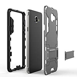 Galaxy A5 (2016) Case, OBLIQ [Slim Meta][Titanium Space Gray] - [Ultra Slim Fit All Around Protection] Dual Coated Polycarbonate Cases for Galaxy A5 (2016) from HX TECHNOLOGY