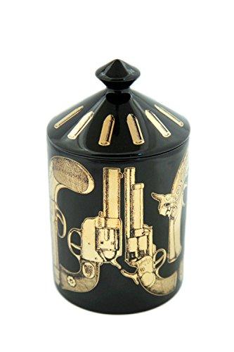 【値下げ】 FORNASETTI PROFUMI フォルナセッティー Nero プロフーミ CANDLE キャンドル プロフーミ Pistole Nero PROFUMI Gold B00ROQXPYG, ブランド古着買取販売 DOLLAR:09097046 --- albertlynchs.com