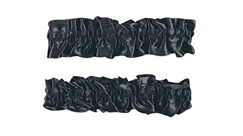 Forum Novelties Roaring 20s Garter Armband - One Size - Black