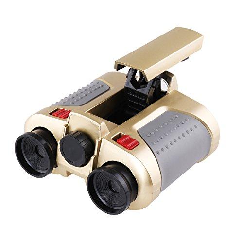 Freebily 4x30 Night Scope Binoculars Telescope with Pop-up Spotlight Fun Cool Toy Gift for Kids Boys Girls by Freebily (Image #2)